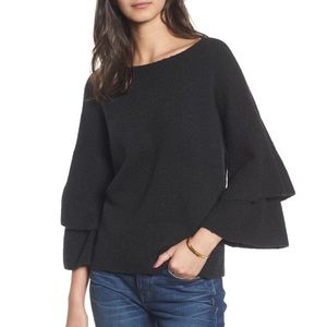 Madewell Tier-Sleeve Pullover Sweater 18-0433